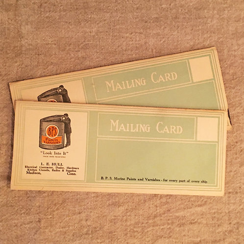 """PAINT BROCHURE """"MAILING CARD"""""""