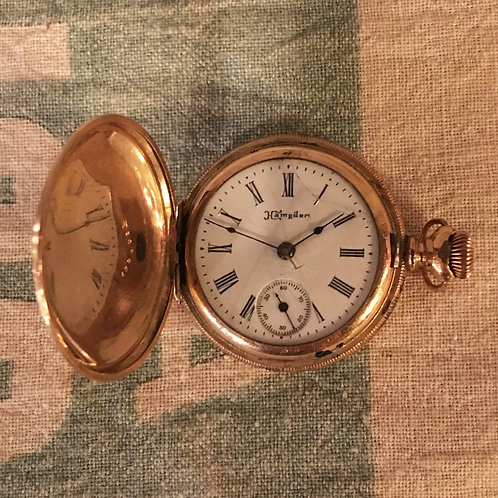 HAMPDEN POCKET WATCH