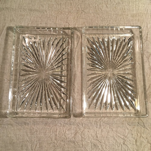 SQUARE GLASS TRAY