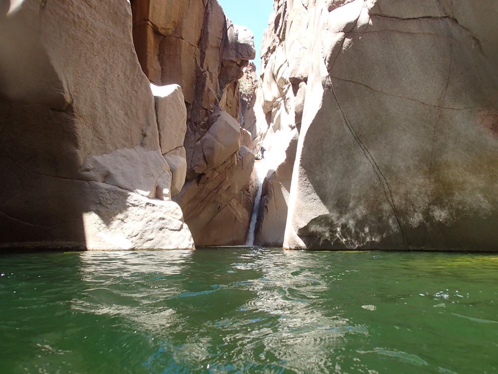 Salome Creek (The Jug) Canyon, AZ — On Rope Canyoneering