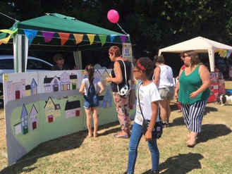 BHVS stall at River Village Fayre raises £122 for Parish Council
