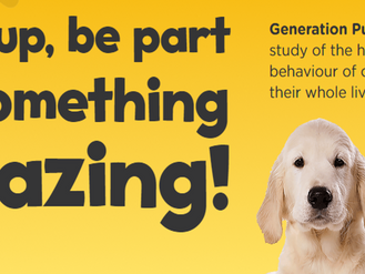 Generation Pup Project: Join NOW!
