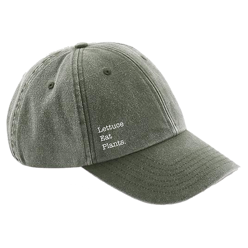 """Olive"" Lettuce Eat Plants Signature Cap"