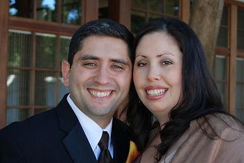 Picture of Insurance Agents Rafael Arredondo and Cristina Santos