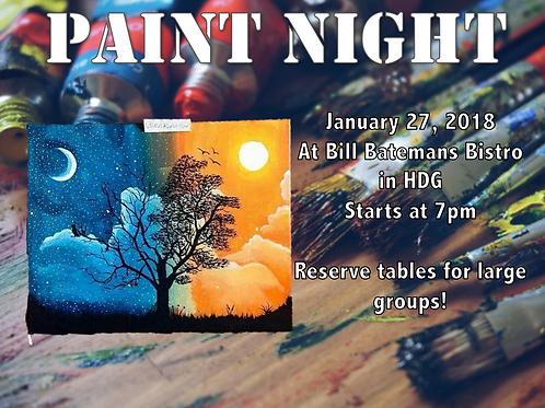 Paint Night!