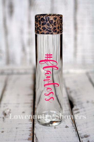 Leopard Print Top Water Bottle