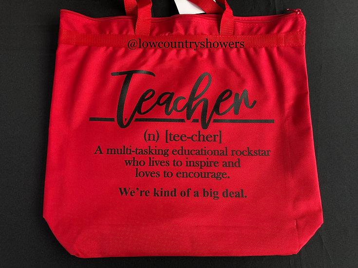 Teacher Definition Tote