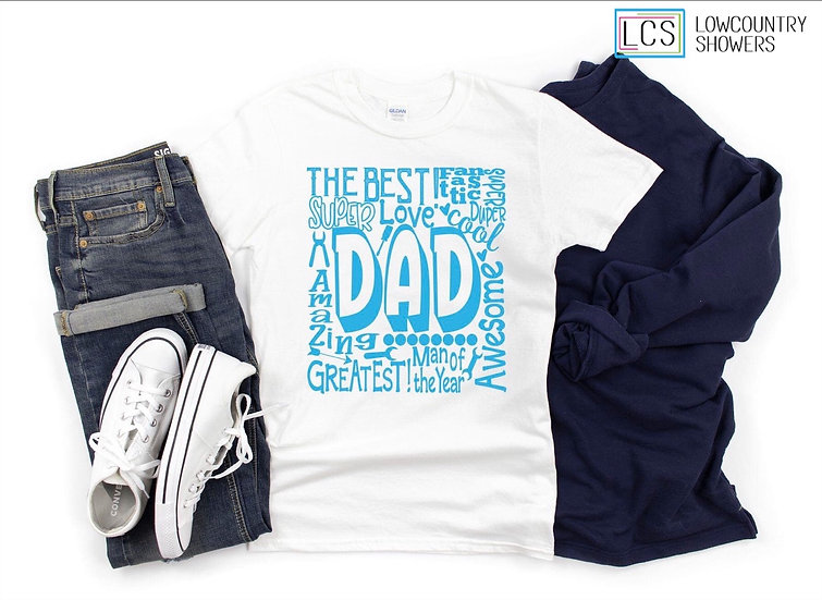Dad Word Art T-Shirt