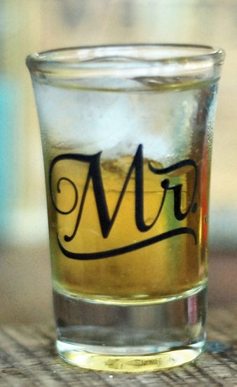 Mr. Shot Glass