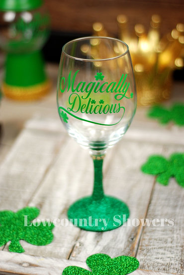 Magically Delicious Wine Glass