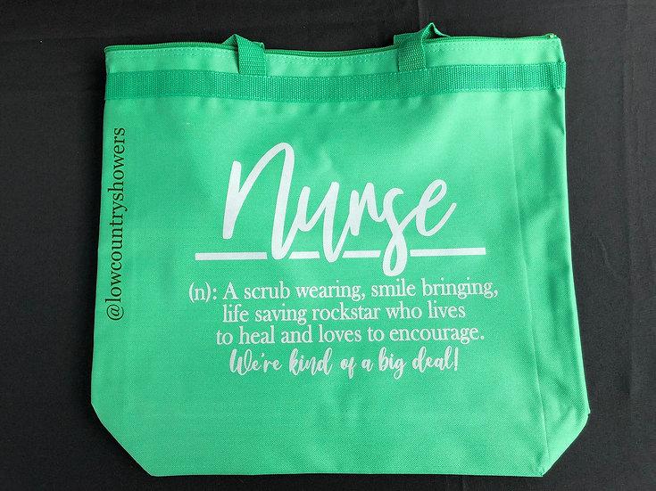 Nurse Definition Tote