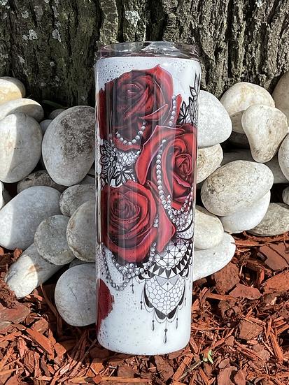 Skulls & Roses Tumbler