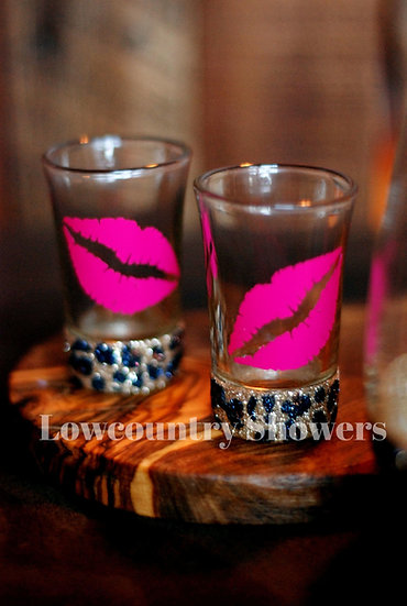 Leopard Print Shot Glass Set