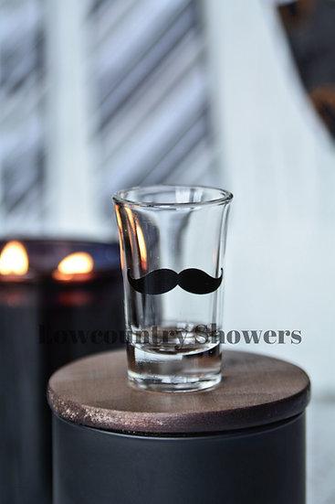 Mustache Shot Glass