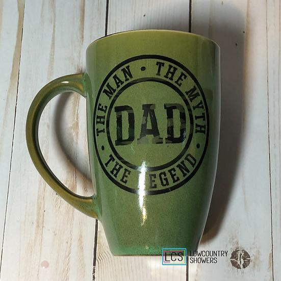 Dad (green) Coffee Mug