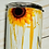 Thumbnail: Crackle Skull Sunflower Tumbler