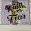 Thumbnail: Faith Over Fear Splash T-Shirt