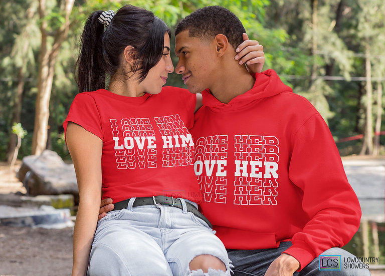 Love Couple's Shirt (includes two shirts)