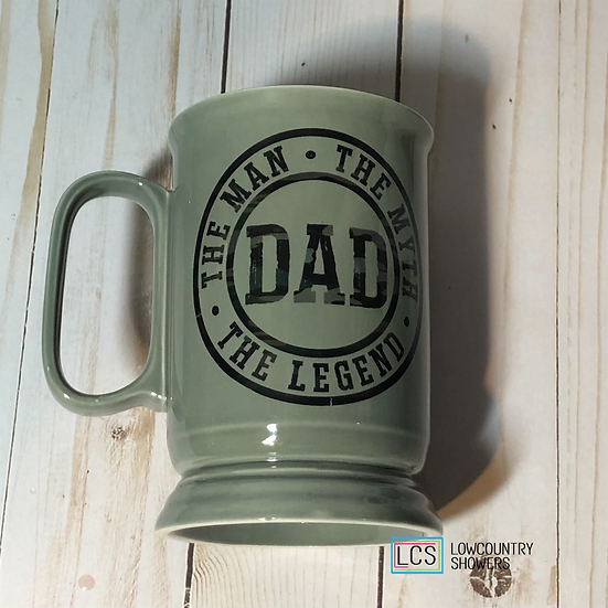 Dad (grey) Coffee Mug
