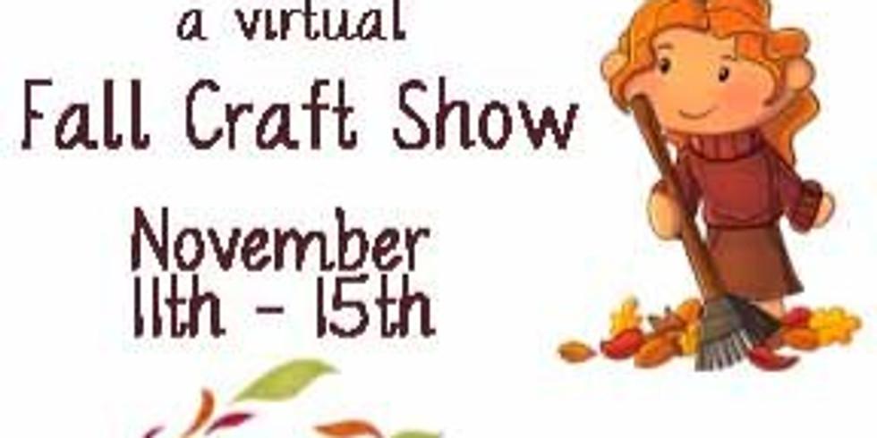 Virtual Fall Craft Show