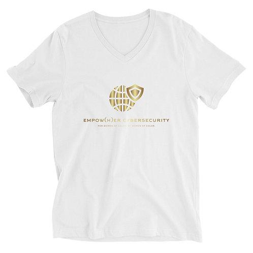 E(H)C Unisex Short Sleeve V-Neck T-Shirt