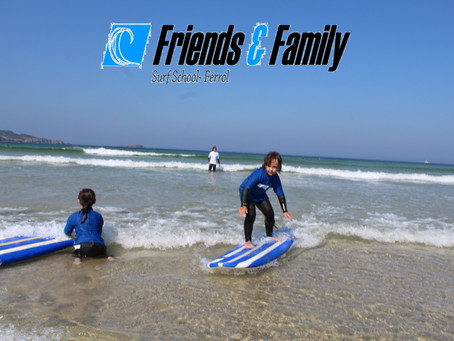 Los mas peques también surfean este verano...¡