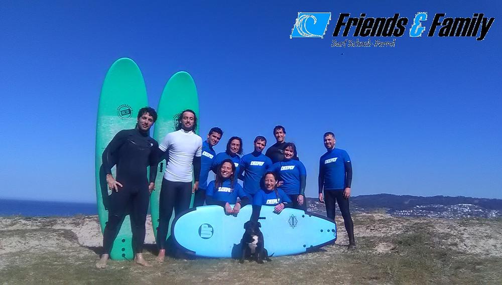 Es un placer tener este equipo de surfers...¡
