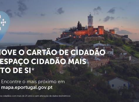 TODOS OS ESPAÇOS CIDADÃO VÃO PERMITIR RENOVAR O CARTÃO DE CIDADÃO