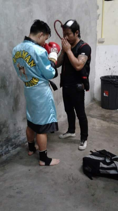 before fight