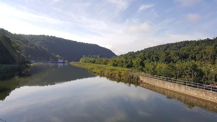 Snowden Hydroelectric Dam Big Island Tow
