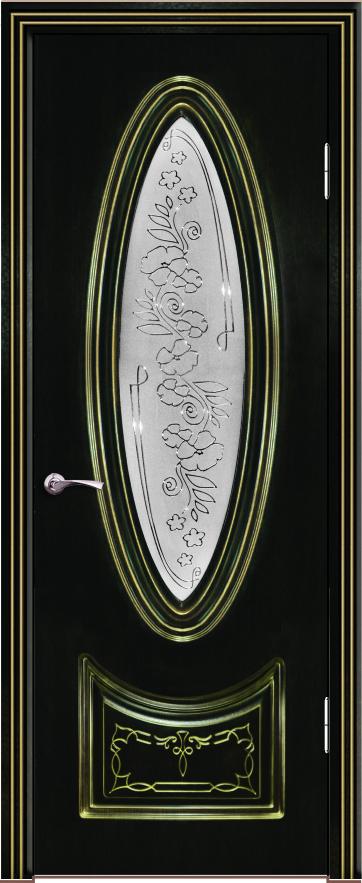 версаль ДО Венге темный 26 с золотой патиной