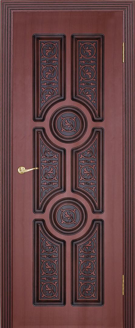Анакона ДГ Махагон с коричневой патиной.