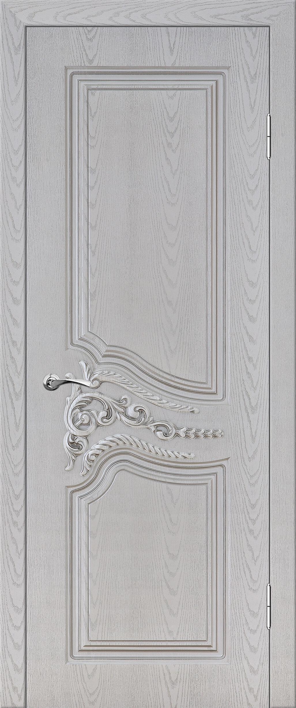 Теодор ДГ Белый цвет с серебряной патиной