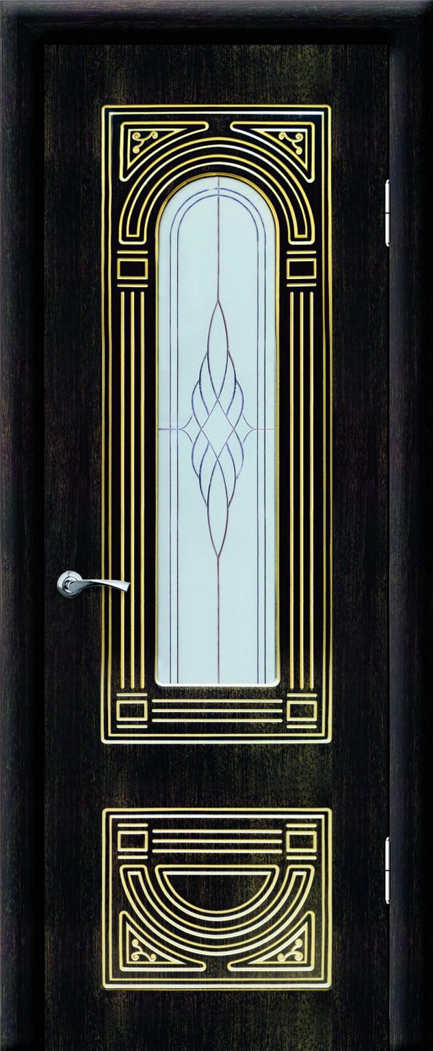 Аврора ДО Венге темный 26 с золотой патиной