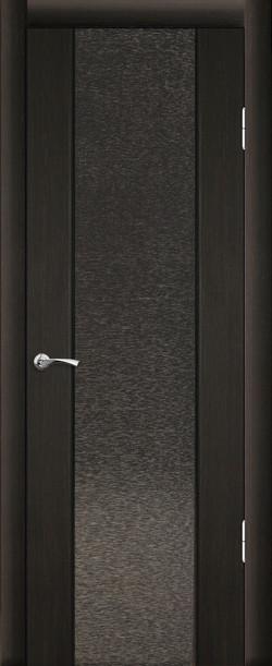 Люкс 1 ДО Триплекс с тканью Венге темный 26