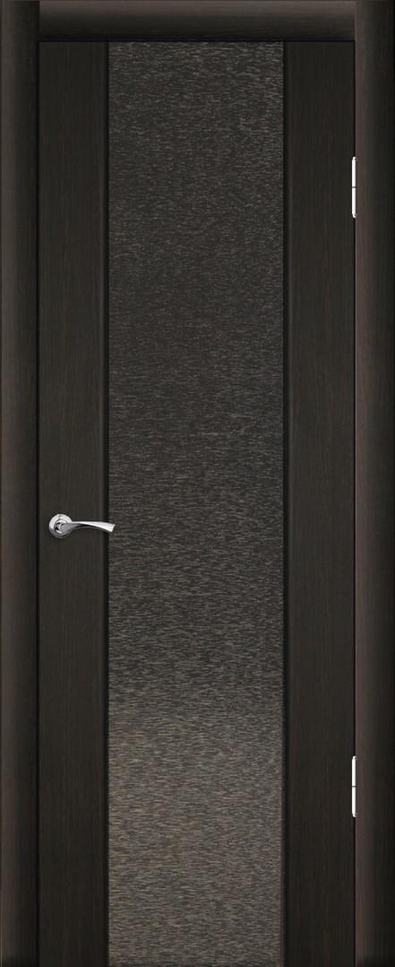 Люкс 1 ДО Триплекс с тканью Венге темный