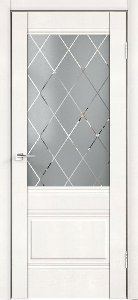 ALTO 2V Белый эмалит стекло