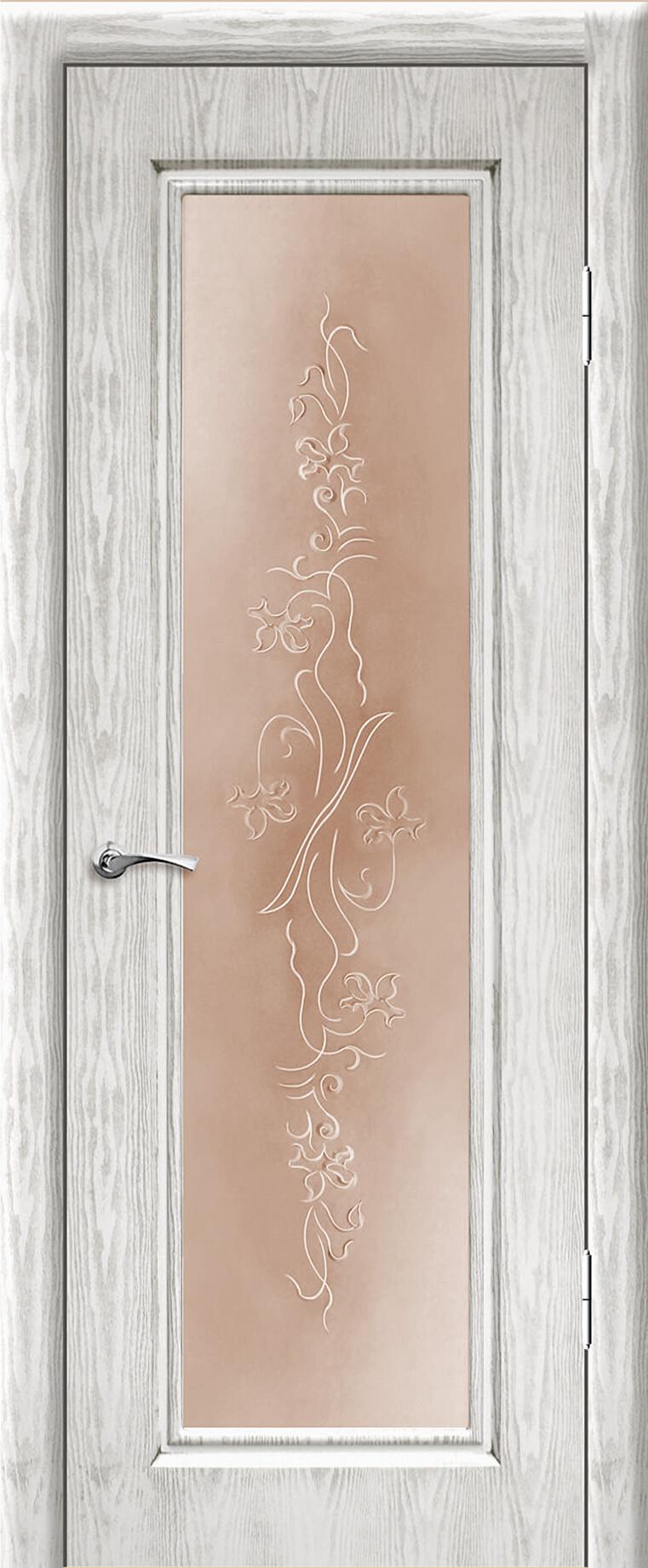 Сиена ДО Белый цвет с серебряной патиной