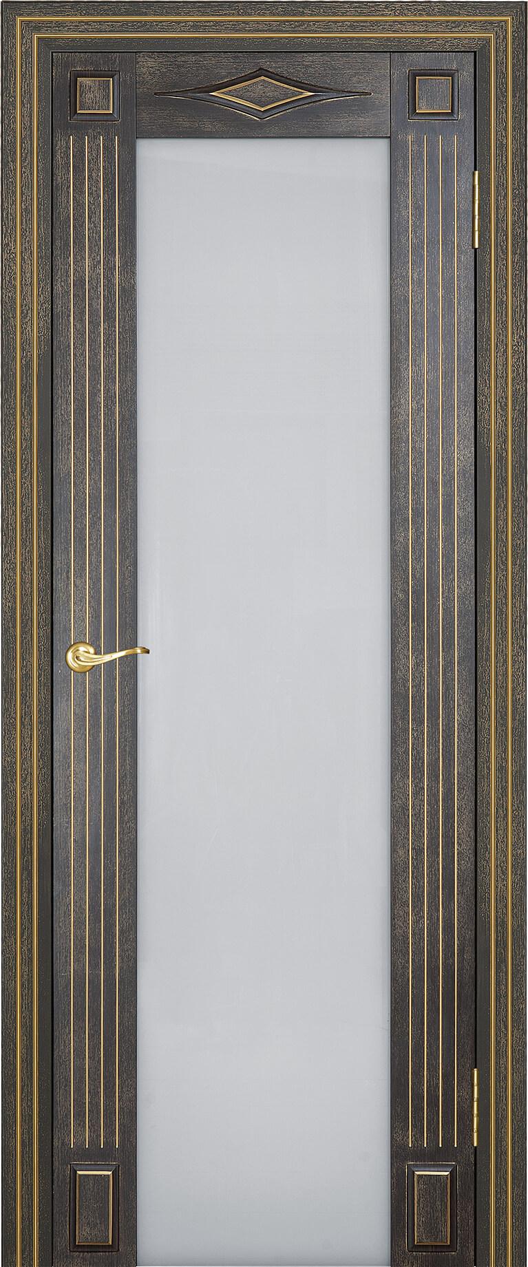 Палермо ДО Триплекс Венге темный 26 с золтой патиной