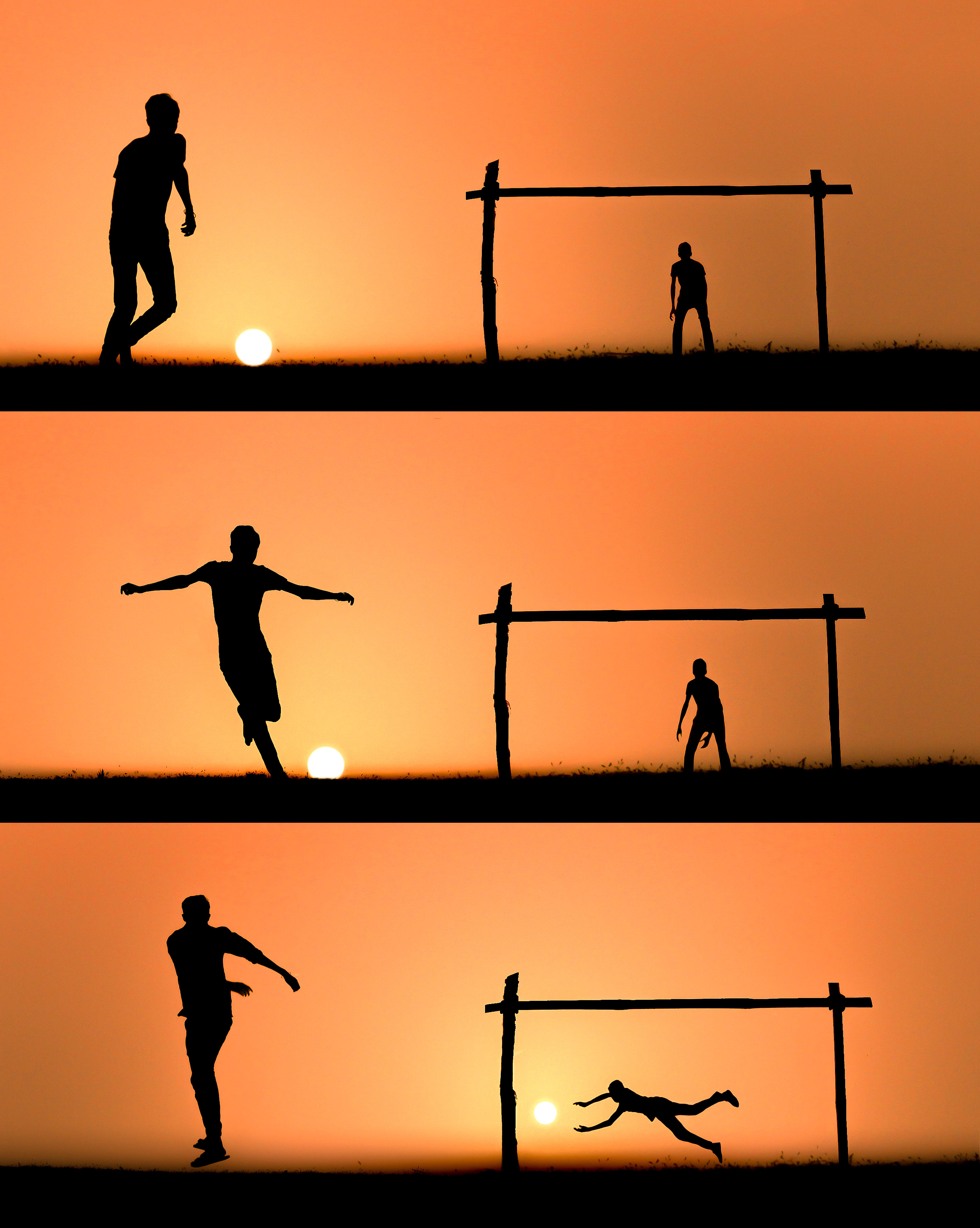 Football With Sun