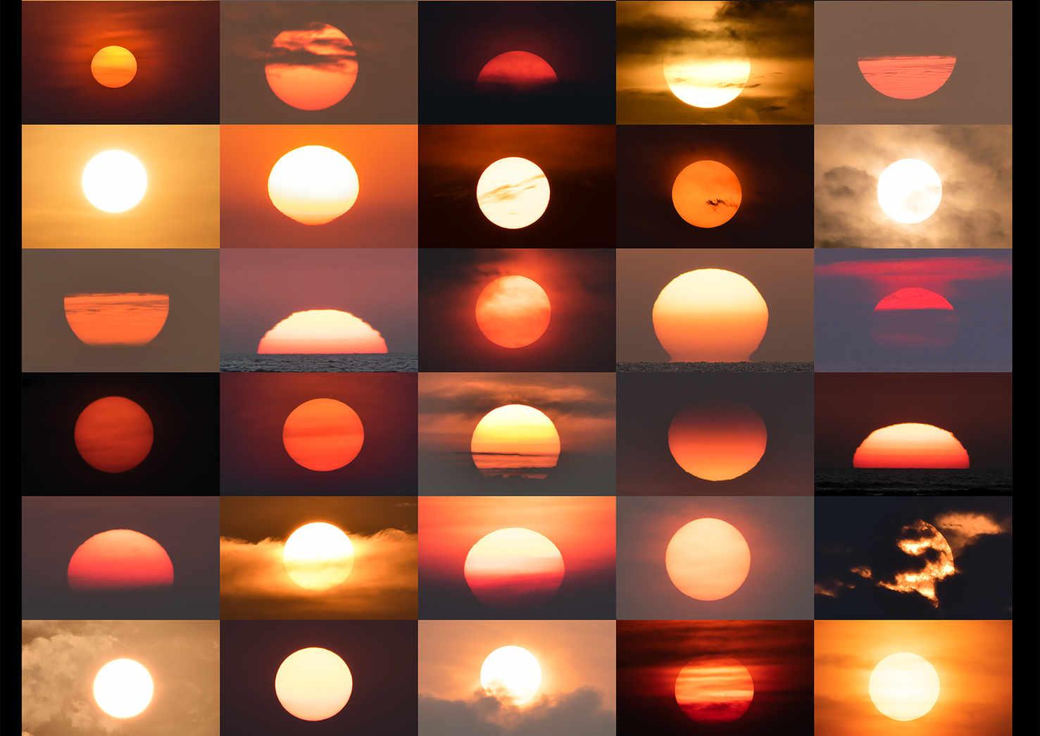 50 SHADES OF SUNSET