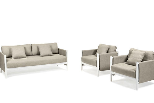 DIPHANO Switch fabric Lounge Set 4,5 seater