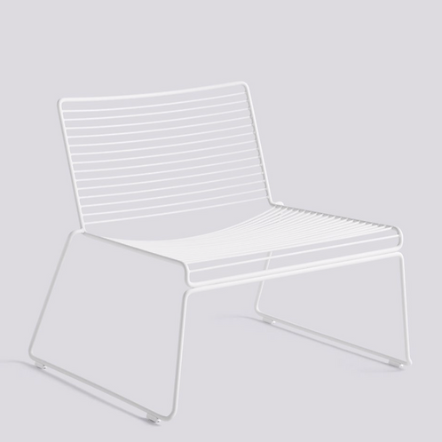 HAY HEE Lounge chair - wit gelakt