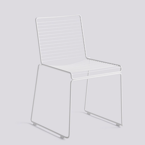 HAY HEE Dining chair - wit gelakt