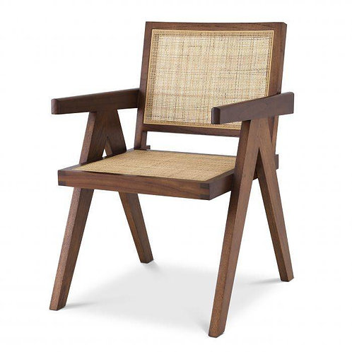 EICHHOLTZ Aristide Dining Chair - klassiek brun