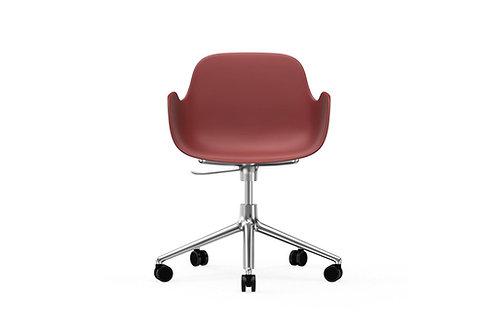 NORMANN COPENHAGEN Chaise de bureau Form base alu