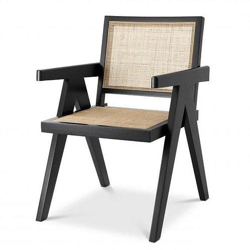 EICHHOLTZ Aristide Dining Chair - noir