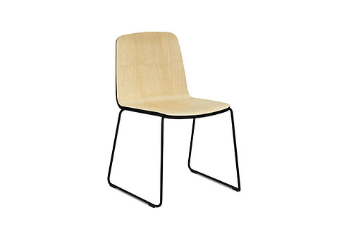 8 x JUST Chair ash/black/black