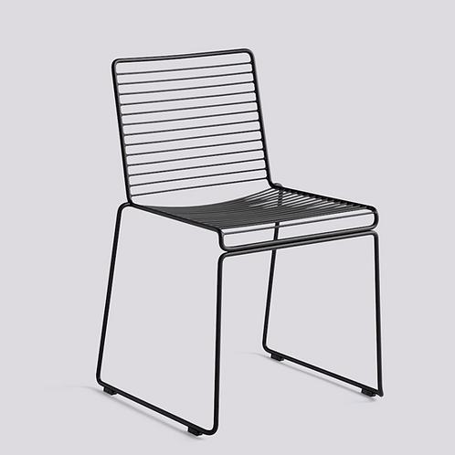 HAY HEE Dining chair - zwart gelakt