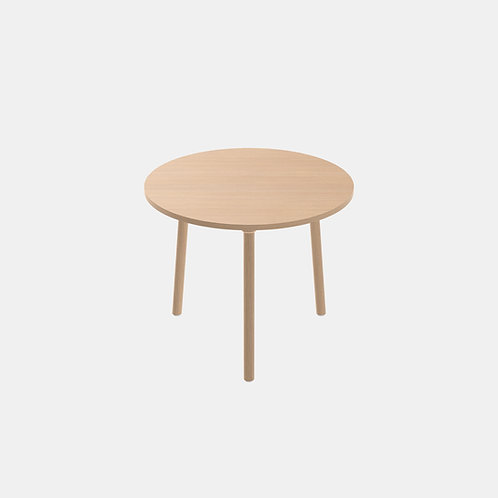 CRUSO Paddle Table Round 90 cm